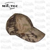 CASQUETTE BASE-BALL MANDRA TAN